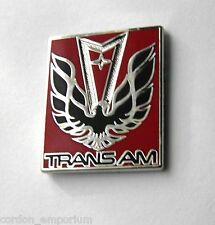 PONTIAC TRANSAM TRANS-AM FIREBIRD WINGS AND LOGO AUTO LAPEL PIN BADGE 1 INCH