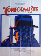THE CONFORMIST - BERTOLUCCI / HAT / GUN - ORIGINAL LARGE FRENCH MOVIE POSTER