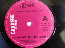 SAXON 747 starngers in the night / SEE THE LIGHT SHINING car151 pROMO ???