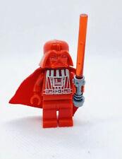 Star Wars Red Darth Vader Custom Lego* Figure #50
