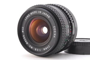 【Exc 】Cosina MC MACRO 24mm f/2.8 MF Lens For Canon FD mount From JAPAN #1133