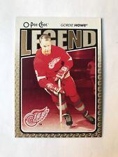 2009-10 OPC Gordie Howe Legend #600