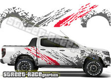 FORD F 150 Rally 002 Truck decals stickers Graphics Grunge boue éclaboussures
