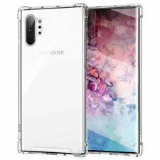 Funda para SAMSUNG GALAXY NOTE 10 PLUS Antichoque Gel Transparente Reforzada
