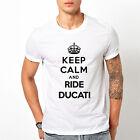 T-shirt maglietta Ducati Keep Calm Taglia S-M-L-XL-XXL