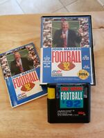 Sega Genesis - John Madden Football '92 (Complete) Game, Manual, Box - CIB NFL