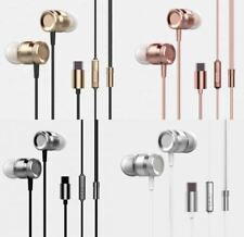 Type C Plug Stereo In-Ear Earphone Headset Headphone Earbuds USB  Microphone