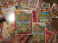 Animal Crossing: City Folk Nintendo Wii NNTENDO SELECTS SERIES RARE GAME NEW