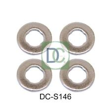 Diesel Injector Washers / Seals for Kia Carens III 2.0 CRDi 135 - Pack of 4