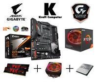 PC Bundle AMD Ryzen 7 2700X (8x4,3GHz) + Gigabyte X570 AORUS ELITE +16GB 3000MHz