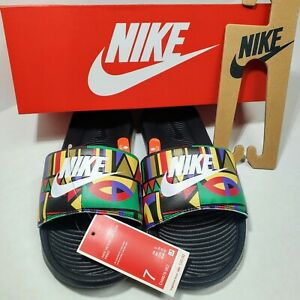 Nike Victori One Slides Sandals Print Sz 7 Men Sports Slippers NWB