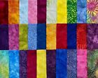 Assorted Batiks Fabric 30 Piece Charm Pack 5