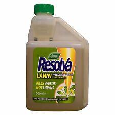 Resolva Weed Killer Herbicide Kills Weeds not Lawn/Grass Treats 250sq.m