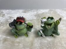 More details for bundle of sprogz collectable frog ornaments by holland studio crafts