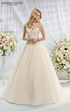 Beading Organza Ball Gown/Duchess Plus Size Wedding Dresses