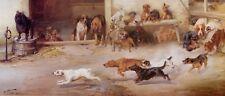 BULLDOG POODLE PUG IRISH SCOTTISH TERRIER BLOODHOUND DOG ART PRINT - W H TROOD