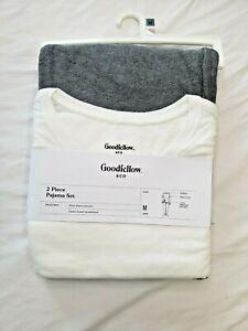 Goodfellow & Co Mens 2 Piece Pajama Set Size M T-Shirt & Pants Super Soft Cozy