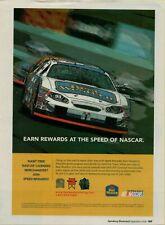 2006 Best Western Hotel Earn Rewards at the Speed of NASCAR Vintage Print Ad