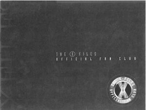 2016 #1 Subscription  NOS!! X-Files