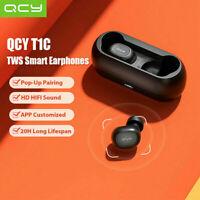 QCY QS1 Bluetooth TWS Earbuds True Wireless Stereo Headphone W/Mic Earphones