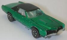 Redline Hotwheels Green 1968 Custom Eldorado oc12300