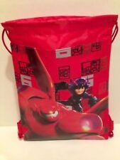 Disney BIG HERO 6 Red SLING BACKPACK / BAG SACK / BOOK BAG