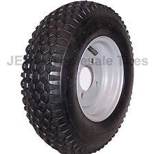 4.80-8 480-8 4.80x8 480x8 Go Kart Tire Rim Wheel Stud Turf Tread 4.80/4.00-8