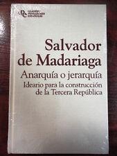 Col.Grandes Pensadores Españoles nº 29,Salvador de Madariaga,Ed.Planeta 2010