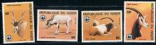 Niger SC688-691 World Wild life Fund-Addax-Oryx MNH 1985