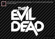 (2x) The Evil Dead Sticker Decal Die Cut ash