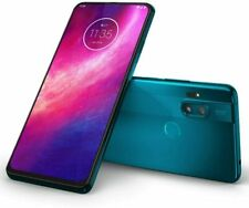 Motorola X2027-1 One Hyper 128GB Unlocked Smartphone, Sea Blue