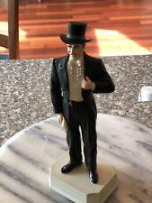 GONE WITH THE WIND -  Rhett Butler - Clark Gable 10 inch Figurine Music Box