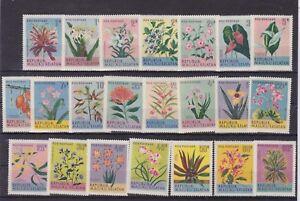 maluku selata 1951 flower,set of 21,MNH        n1442