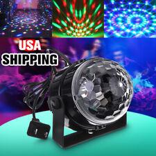 Mini RGB LED Party Disco Club DJ Light Crystal Magic Ball Effect Stage
