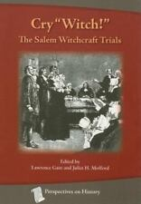 """Cry """"Witch!"""" : The Salem Witchcraft Trials (1970, Paperback, Revised)"""
