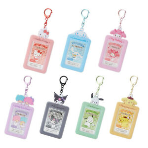 Sanrio Kuromi/Hello Kitty/Cinnamoroll/Melody Photo Holder Frame Charm Keychain