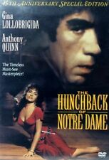 The Hunchback of Notre Dame (DVD, 2002) VERY RARE ANTHONY QUINN 1956 MINT DISC