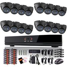 TECBOX 16 Channel DVR 700tvl HDMI Home Security Cameras System CCTV System Kit