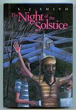 L J SMITH / The Night of the Solstice First Edition 1987