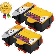 4 Kodak Compatible Ink Cartridge 10B 10C Combo Twin Pack ESP 3579 3250 5210 5250