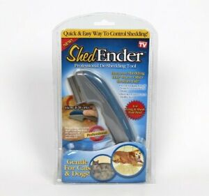 Shed Ender Professional Cat Dog Pet De-Shedding Tool NEW