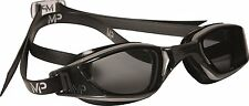 MP Michael Phelps XCEED Swimming Goggles, Smoke Lens, Grey/Black Frame FREE SHIP