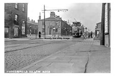 pt0191 - Tram at Huddersfield Road , Low Moor , Yorkshire - photo 6x4