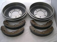 HOLDEN  RODEO PAIR OF  REAR BRAKE DRUMS & SHOES 1996-2002