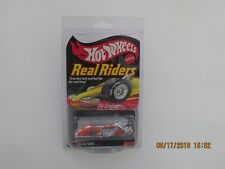 Hot Wheels 2006 REAL RIDERS PIT CRUISER ORANGE 5553/11000 MFG KAR KEEPER B-YW