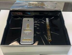 1 Million Lucky  by Paco Rabanne For Men 2 Pcs Gift Set-100ml EDT+10ml EDT