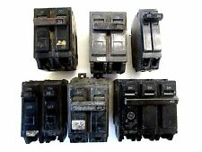 Lot Of 6 Different Circuit Breakers * Old Stock