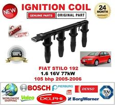 FOR FIAT STILO 192_ 1.6 16V 77kW 105 bhp 2005-2006 IGNITION COIL 6-PIN CONNECTOR