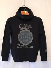 "Nanamica ""College"" Hooded Sweatshirt - Size Small - New With Tags"