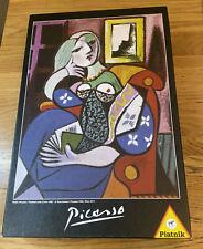 """Pablo Picasso """"Femme Avec Livre 1932"""" 1000 Piece Puzzle By Piatnik"""